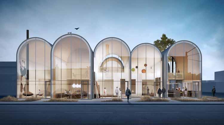 Предоставлено Modern Office of Design + Architecture
