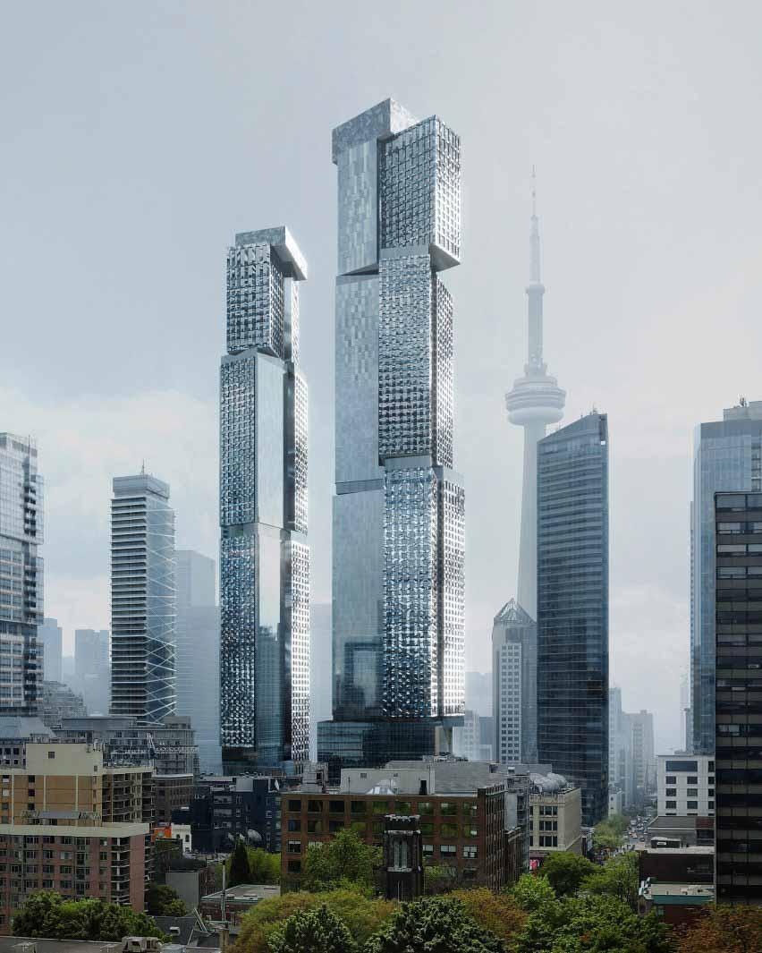 Проект Гери, Торонто, Канада, Фрэнк Гери