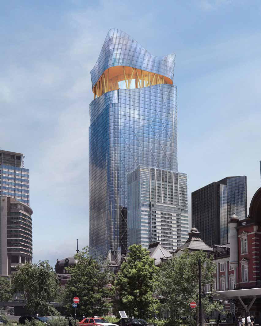 Факельная башня, Токио, Япония, от Sou Fujimoto Architects