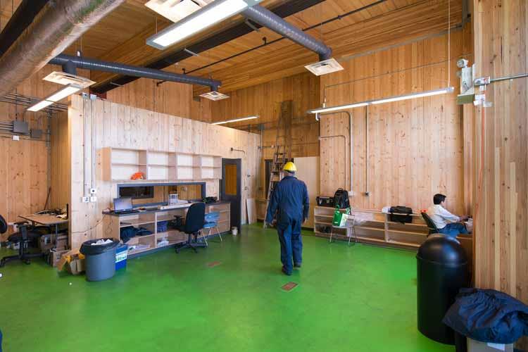Центр исследований и демонстрации биоэнергетики, UBC / McFarland Marceau Architects Ltd. Изображение © Don Erhardt Photography. Предоставлено naturallywood.com