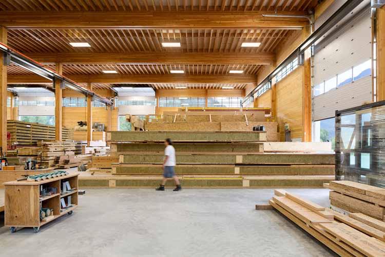 BC Фабрика пассивных домов / Архитектура Хемсворта. Изображение © Ema Peter Photography