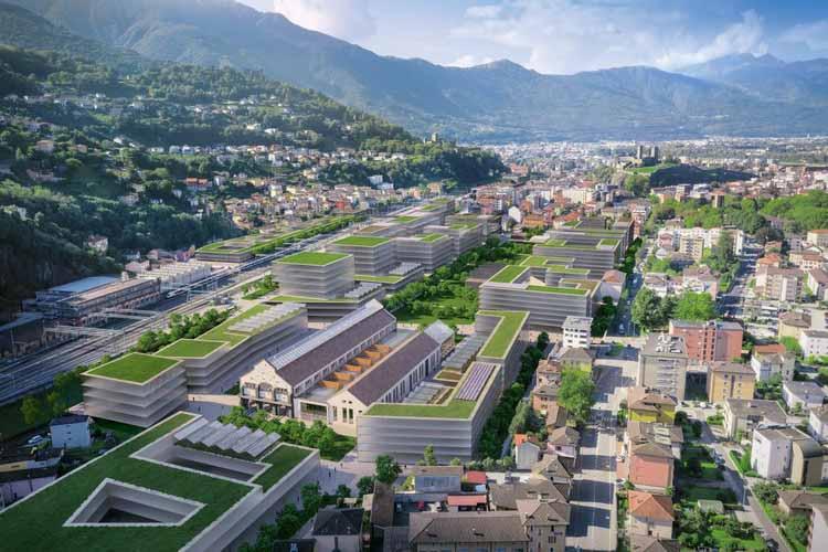 Проект «Будущее» в Беллинцоне. Изображение предоставлено TAMassociati