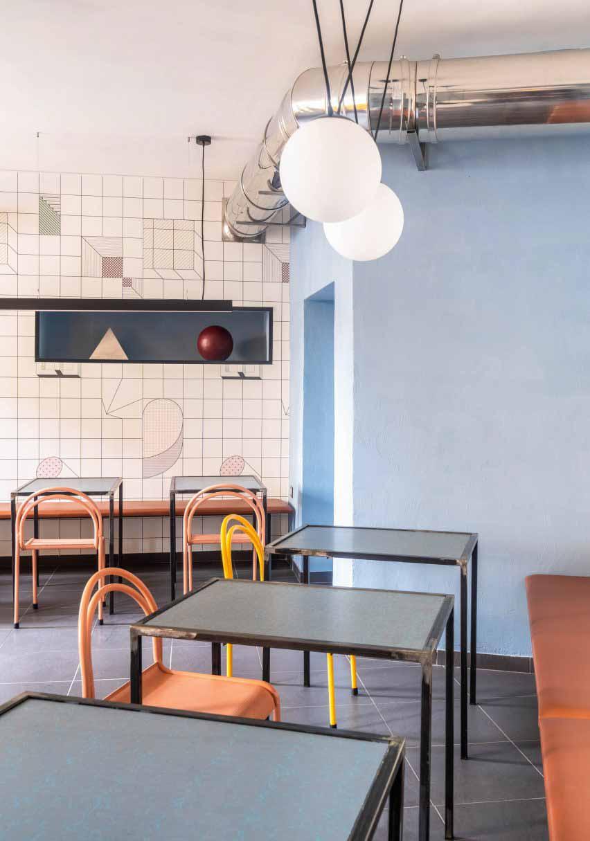 Столовая в Tre De Tutto от Studio Tamat