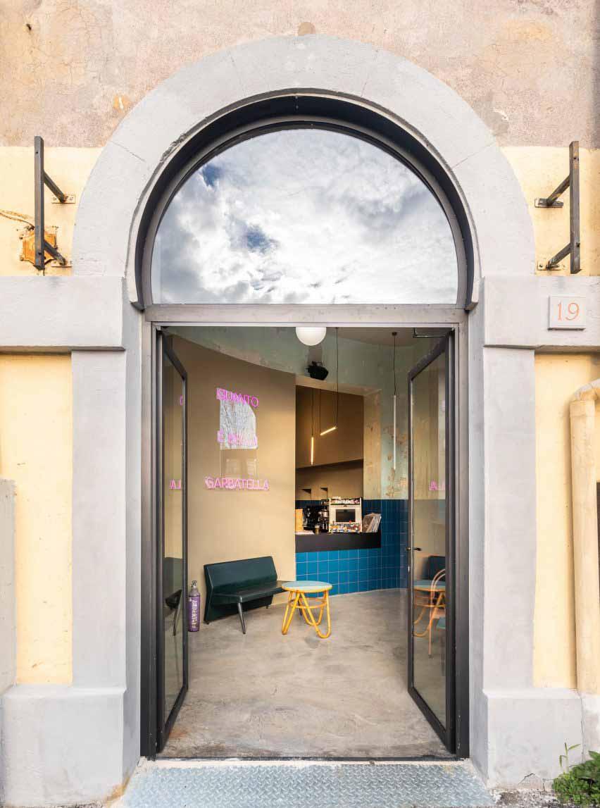 Вход в Tre De Tutto от Studio Tamat