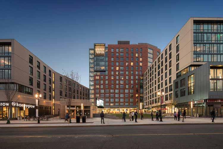 Апартаменты Sojourner Truth из Университета Рутгерса в The Yard / Elkus Manfredi Architects, © Brad Feinknopf