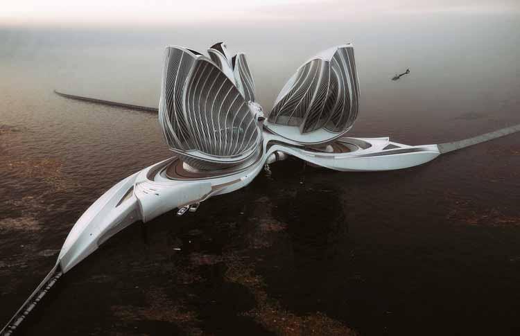 Гран-при 2020: Ленка Петракова спроектировала плавучую исследовательскую станцию для очистки океанов, любезно предоставлено Марко Маргета