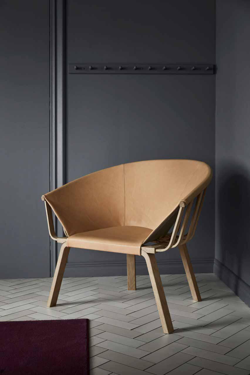 Мика Линдблад создает стул без обивки, чтобы подчеркнуть его конструкцию