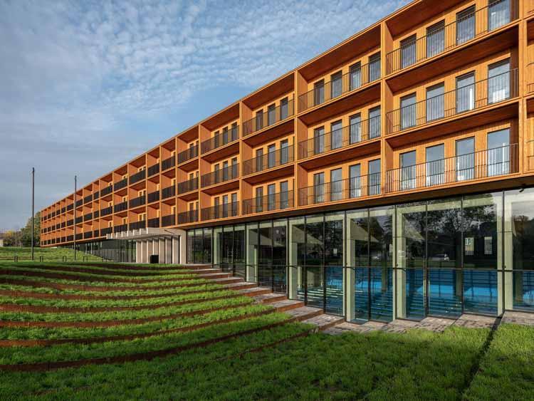 Нарвский учебный центр Эстонской академии наук безопасности / 3 + 1 Architects, © Tõnu Tunnel