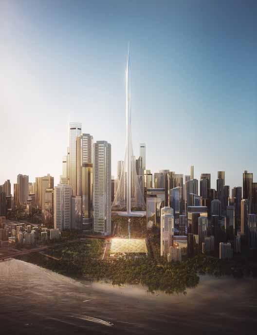 Пингвиньи иглу в Антарктиде и садовая мечеть в Дубае: 10 недостроенных проектов, представленных в , любезно предоставлено Formwerkz Architects