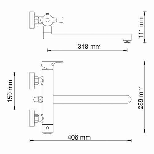 Смеситель WasserKRAFT Berkel 4802L