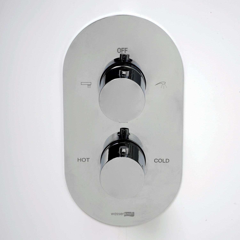 Смеситель WasserKRAFT Berkel 4844 Thermo