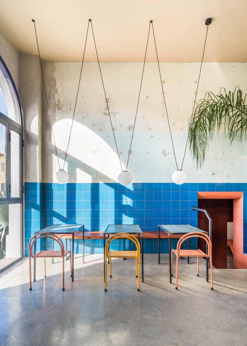 Studio Tamat проектирует ресторан Tre De Tutto в Риме