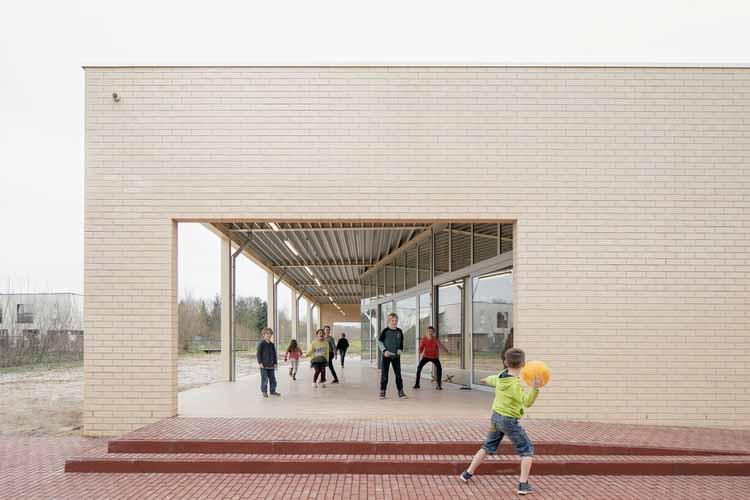 Здание Warot / B-ILD, © Jeroen Verrecht