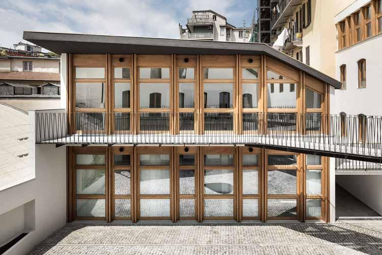 Жилой дом Canonica / deamicisarchitetti, © Alberto Strada