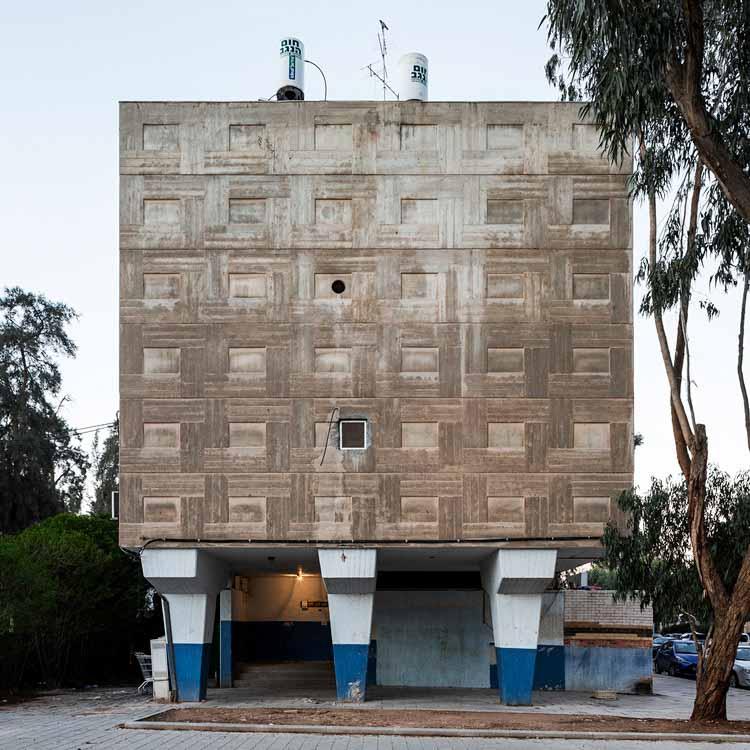 Жилой дом - Меир Чечик и Битош Комфорти (60-е годы). Изображение © Стефано Перего