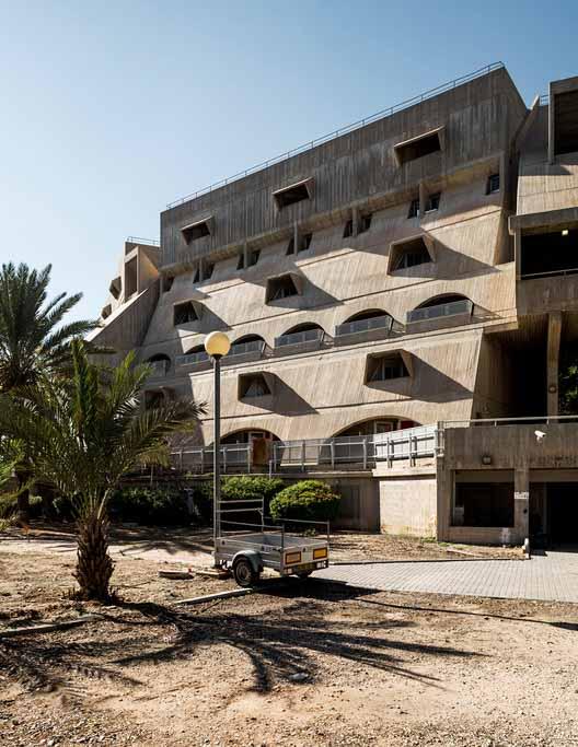 Студенческое общежитие - Рам Карми (1974). Изображение © Стефано Перего