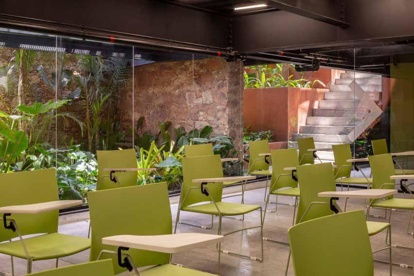 Интерьеры коворкинга в Бразилии от Laurent Troost Architectures