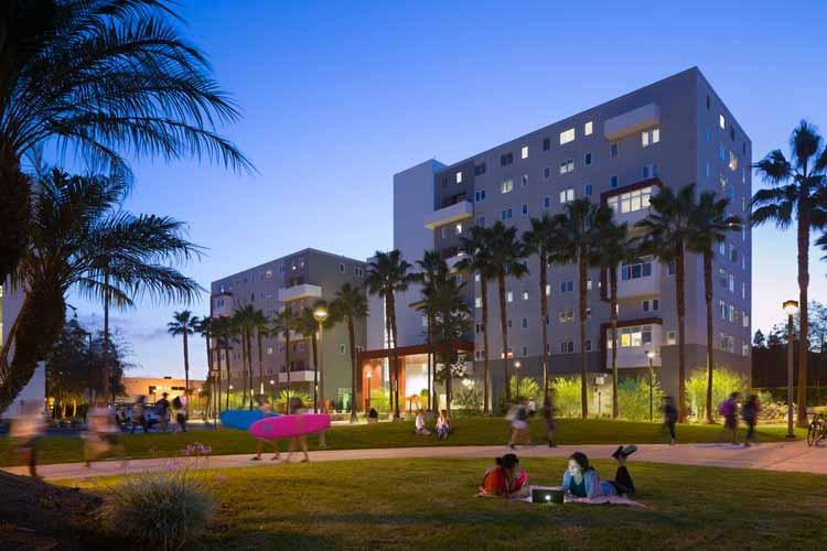 UCSD Zura Hall Project. Изображение предоставлено HMC Architects
