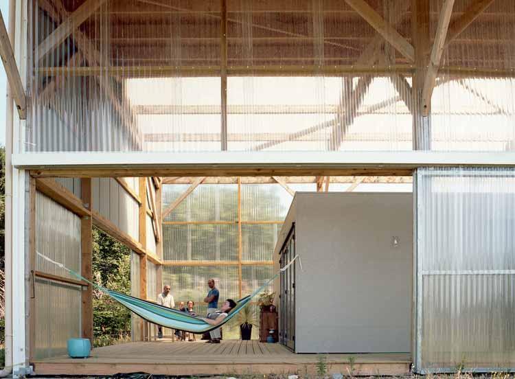 L'Architecture est dans le Pré / Claas architectes. Изображение © Мириам Эолме