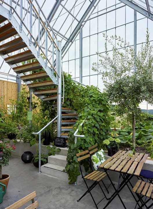 Дом природы Уппгренна / Архитектор, созданный на заказ. Изображение © Ульф Целандер