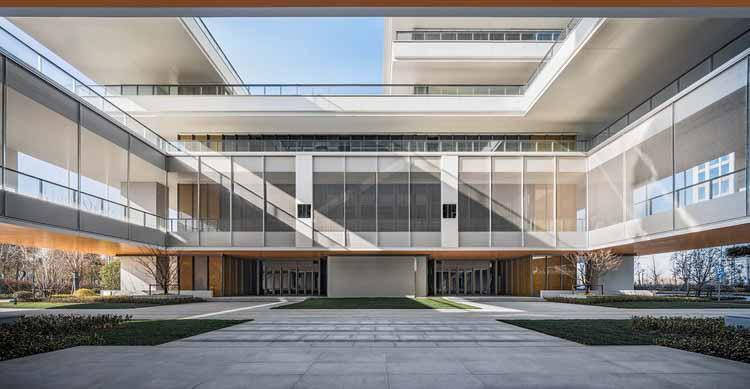 центральный двор. Изображение © Xunmei Media