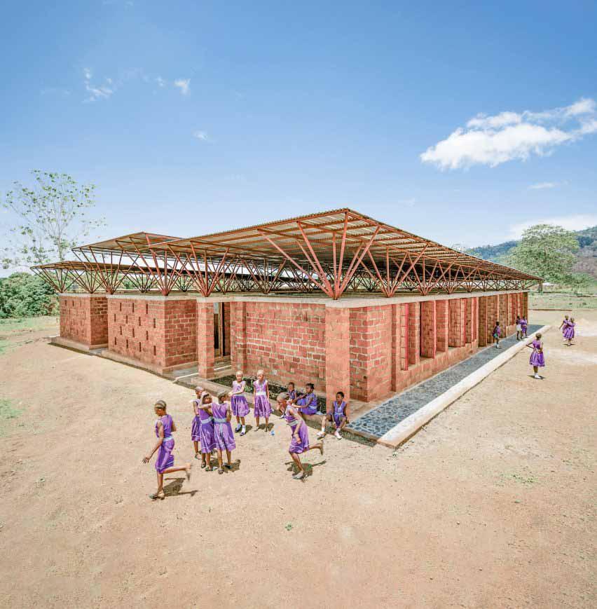 Школа для девочек Swawou, Кенема, Восточная провинция, Orkidstudio