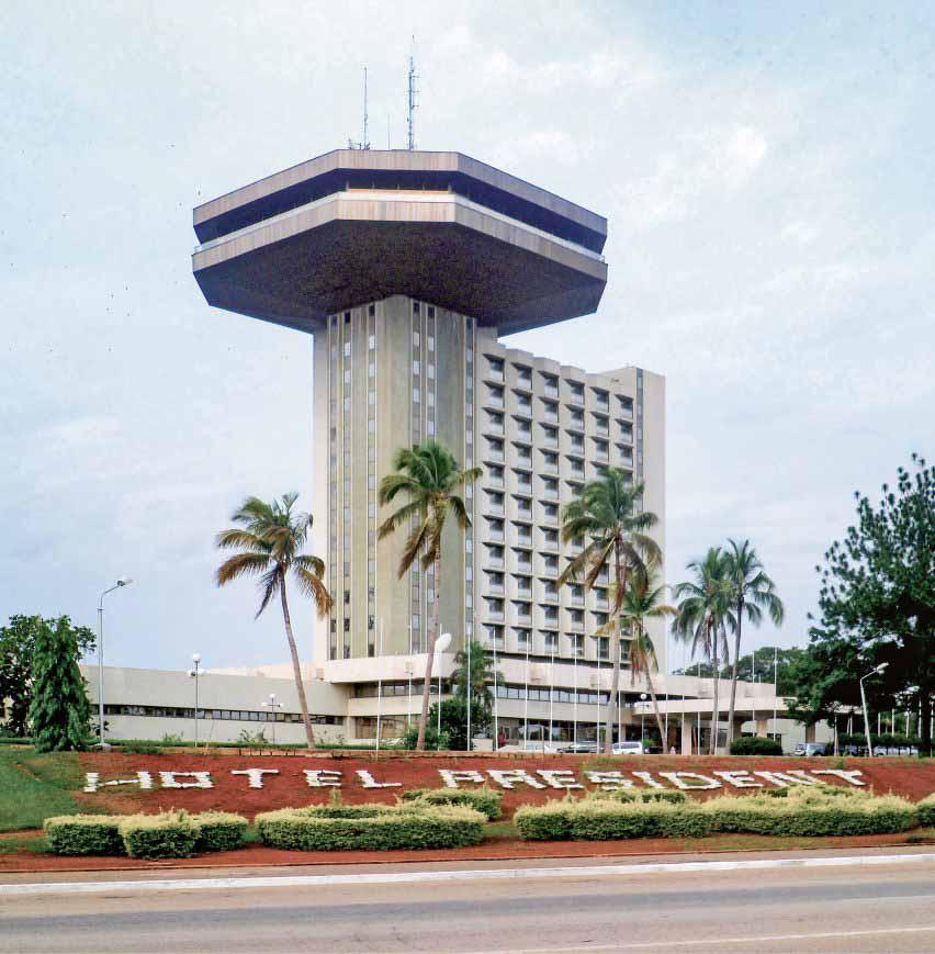 Hôtel Président, Ямусукро, Оливье-Клеман Какуб