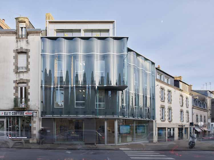 Агентство GIBOIRE Morbihan Offices / a / LTA, © Stephane Chalmeau