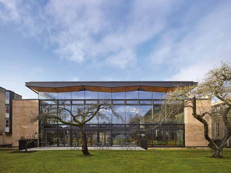 Библиотека Сент-Мэри Кальн / Вудс Багот, © Will Pryce