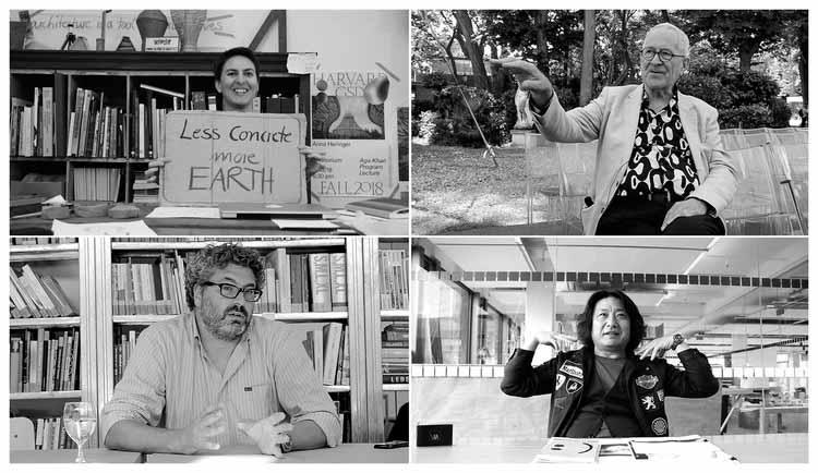 Что такое архитектура? Идеи Питера Кука, Анны Херингер, Мун Хуна и Грега Линна, любезно предоставлено What is architecture?