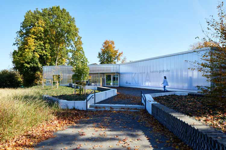 Детский сад Каролин Гольдхофер / heilergeiger architekten und stadtplaner BDA, © Nicolas Felder