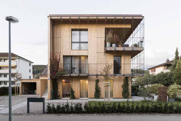 Дом Müller Gamboni / Bauatelier Metzler, © Ян Келлер