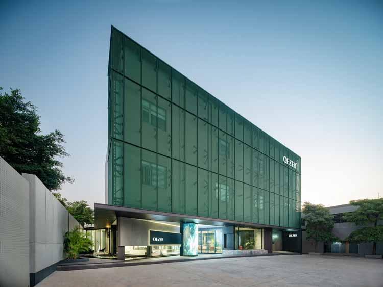 Головной офис OEZER / CHU-studio, © Стивен Лу
