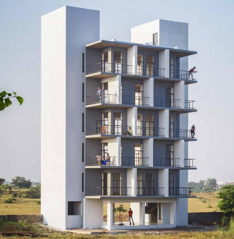 Хостел Flying Walls / Архитектурная студия Dhulia, © Dhrupad Shukla