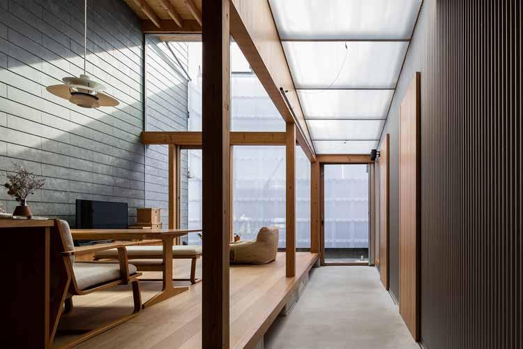 M + K House / Архитектурное бюро SAI, © Норихито Ямаути