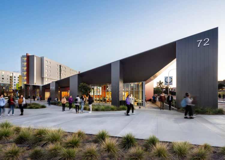 «Нам нужна гибкая архитектура»: женщины из HMC Designing for Equity, Wellness and Housing, Cal Poly Student Housing. Изображение предоставлено HMC Architects