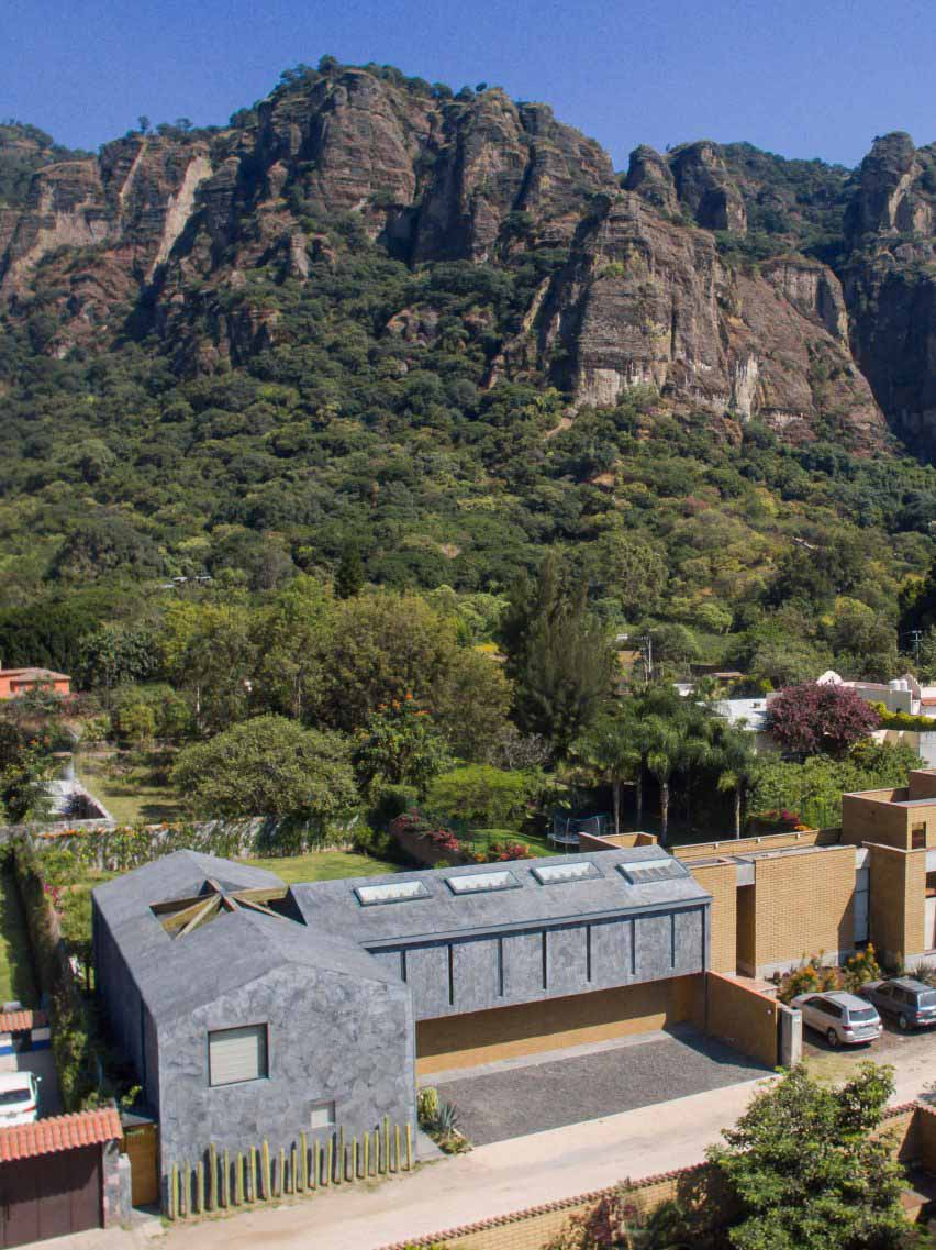 Casa Texcal от HGR Arquitectos