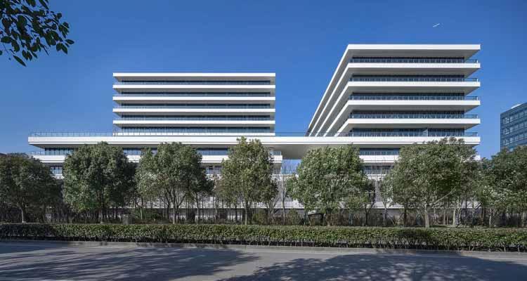 Штаб-квартира Джойсона / DC Alliance, фасадный фасад. Изображение © Xunmei Media