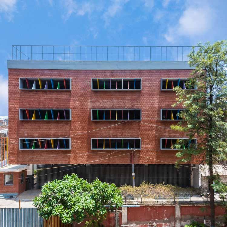 Школа Удаан / Студия AVT Architects, © Авниш Кумар