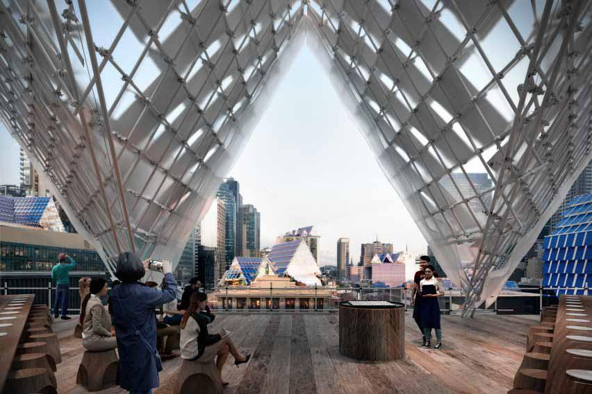 Солнечная архитектура Крыши Мельбурна от John Wardle Architects
