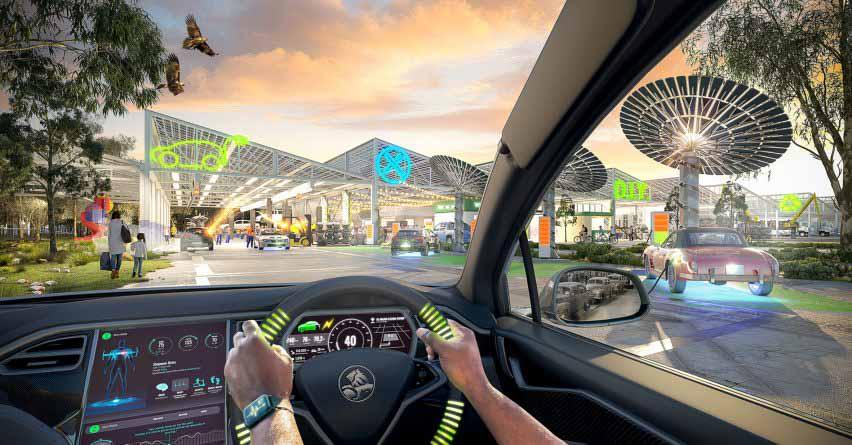 Электрификация транспорта: переоборудование автомобилей от Grimshaw, Greenshoot и Greenaway Architects