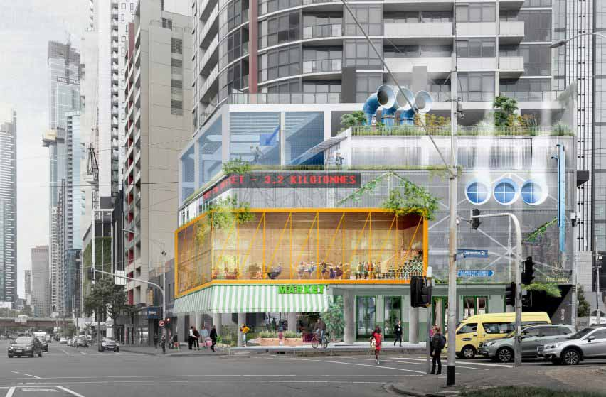Электрифицированная архитектура Southbank Apartments Автостоянка от Clare Cousins Architects