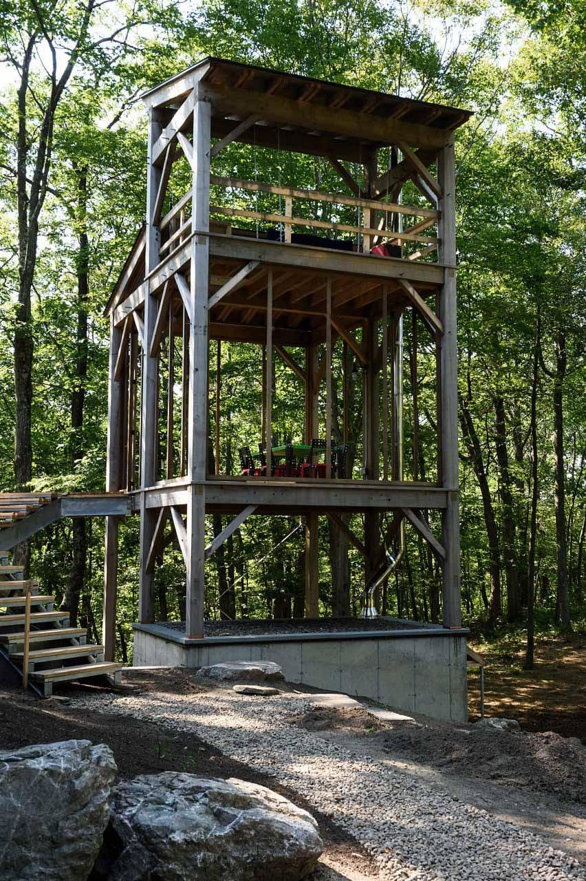 BarlisWedlick добавляет Sauna Tower в свой домик в Нью-Йорке