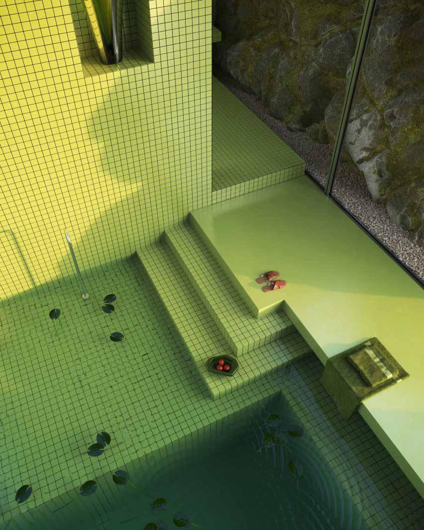 Ванная в виртуальном доме