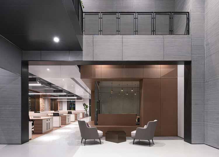 Конференц-зал и приемная с когерентным видением. Изображение © Qingshan Wu