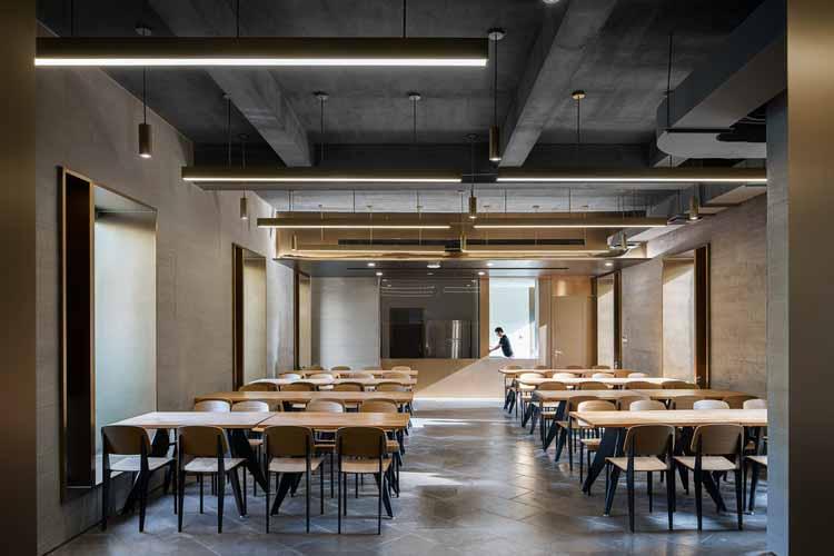 Ресторан. Изображение © Qingshan Wu