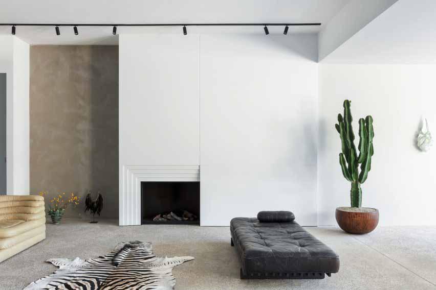 Минималистичная квартира с гигантским кактусом
