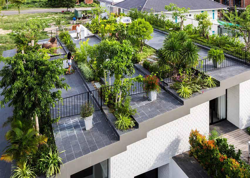 Дом в Нячанге, Вьетнам от Vo Trong Nghia
