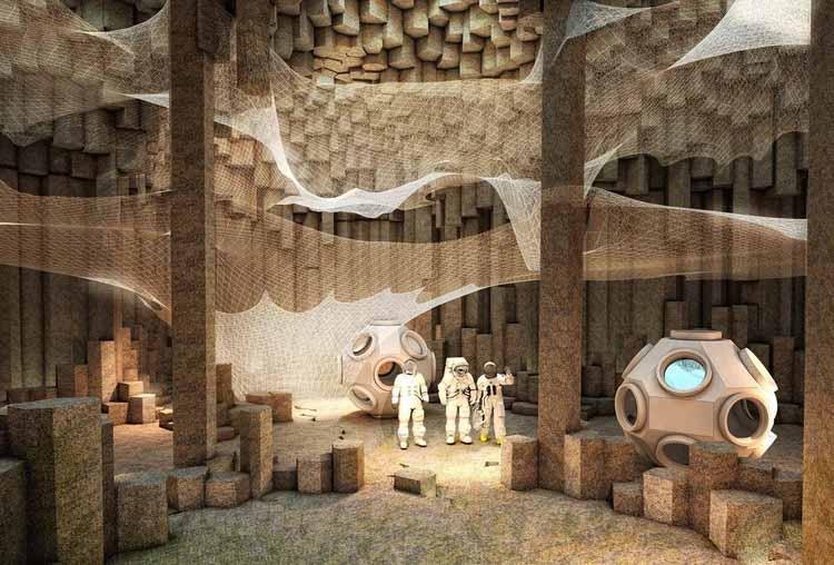 Колонизация Марса / ZA Architects. Изображение © ZA Architects