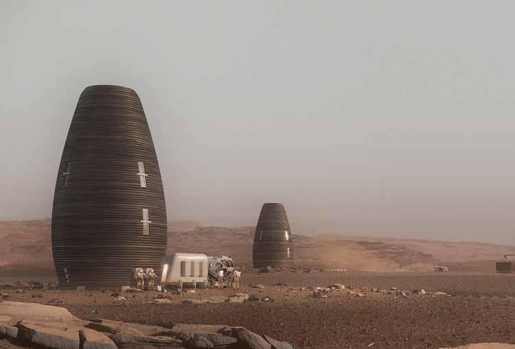 Марша / А.И. Космический завод. Изображение © AI SpaceFactory и Plomp